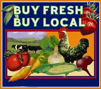 Buy Fresh, Buy Local at Mitchell Farms, Collins, Mississippi.